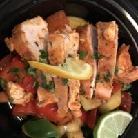 Achiote Chicken Breast with Lime Ratatouille