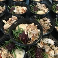Roasted Turkey Red Potato Mash & Cranberry Green Beans